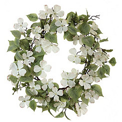 Dogwood Wreath, 26 in.