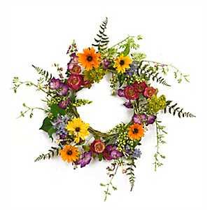 Wildflower Mix Wreath
