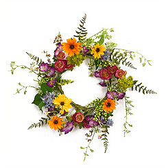 Wildflower Mix Wreath