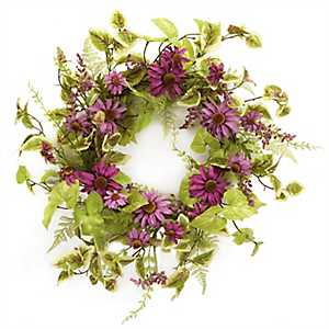 Black Eyed Susan Wreath, 20 in.