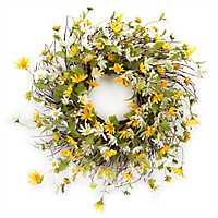 Daisy Mix Wreath