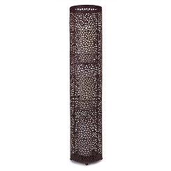 Bronze Patterned Candle Holder, 33 in.