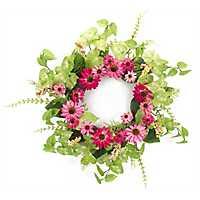 Pink Black Eyed Susan Wreath