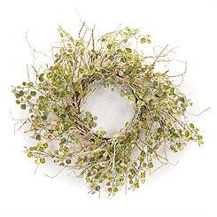 Birch Foliage Wreath