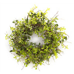 Green Foliage Mix Wreath