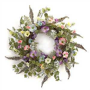 Morning Glory Mix Wreath