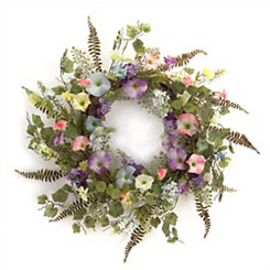 Morning Glory Mix Wreath
