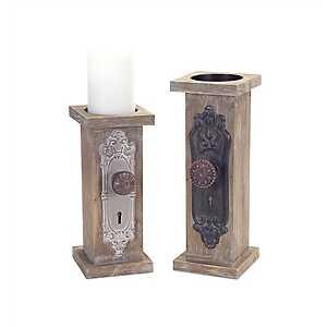 Doorknob Candle Holders, Set of 2