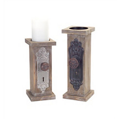Doorknob Candle Holders, Set of 2