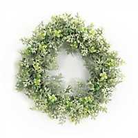 Dusty Miller Mix Wreath
