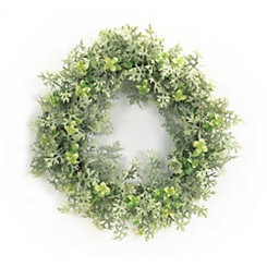 Dusty Miller Mix Wreath