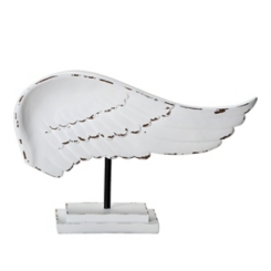 White Wing Finial