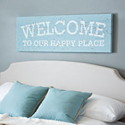 Happy Place Canvas Art Print