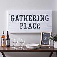 Gathering Place Canvas Art Print