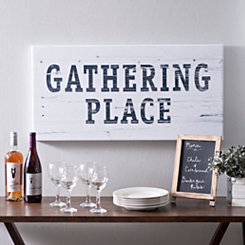 Gathering Place Canvas Art Print