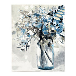 Maison Jardin Soft I Canvas Art Print