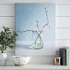 Hawthorn Flowers Canvas Art Print