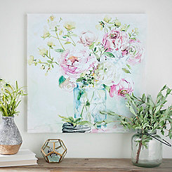 Asbury Garden Belle Bouquet I Canvas Art Print