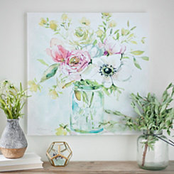 Asbury Garden Belle Bouquet II Canvas Art Print