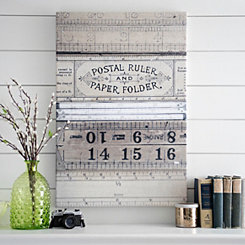 Collection of Rules Canvas Art Print