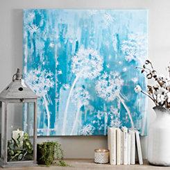 Wish Away Blues Canvas Art Print