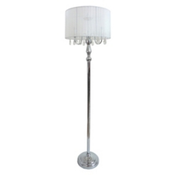 Crystal Drop Floor Lamp