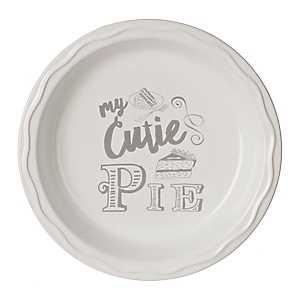 My Cutie Pie Pie Plate
