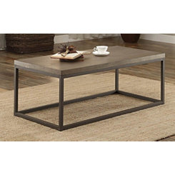 Daria Metal Frame Coffee Table