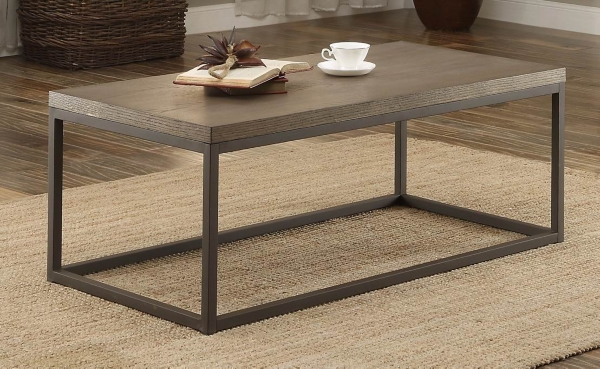 Daria Metal Frame Coffee Table
