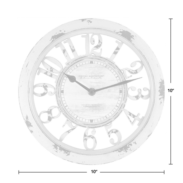 antique contour wall clock