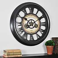Gear Works Wall Clock