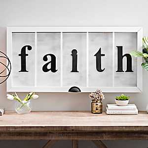 Faith Window Shadowbox