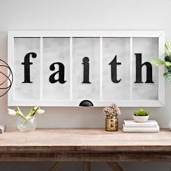 Faith Wall Decor all wall decor | kirklands