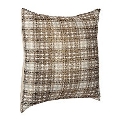 Maxi Gold Plaid Pillow