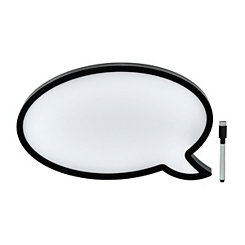 Pre-Lit Speech Bubble Dry Erase Board