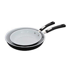 Black 2-pc. Fry Pan Set