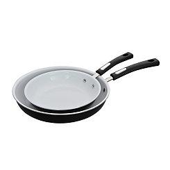 Black 2-pc. Fry Pan Set