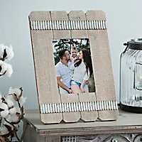 Wooden Fence Picture Frame, 4x6