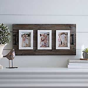 Wooden Collage Frame with Handles