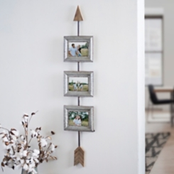 Rustic Arrow Collage Frame