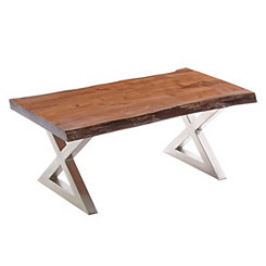 Rustic Wood Large Coffee Table