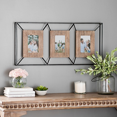 industrial wire collage frame - Window Collage Frame