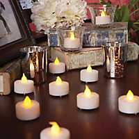 LED Tealight Candles, Set of 48