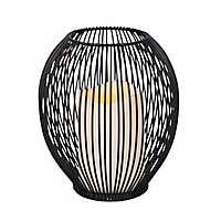 Pre-Lit Open Wire Frame Lantern
