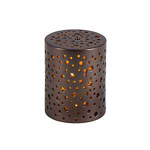 Star Glow 4 in. LED Pillar Candles, Set of 4