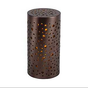 Star Glow 6 in. LED Pillar Candles, Set of 4