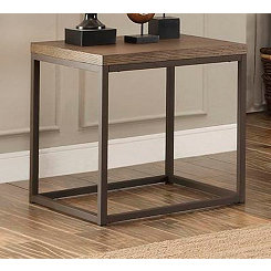 Daria Metal Frame Accent Table
