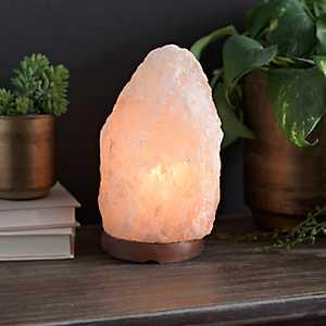 Natural Orange Himalayan Salt Night Light