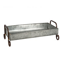 Galvanized Metal Decorative Trough