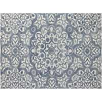 Gray Tile Bansi Area Rug, 5x8